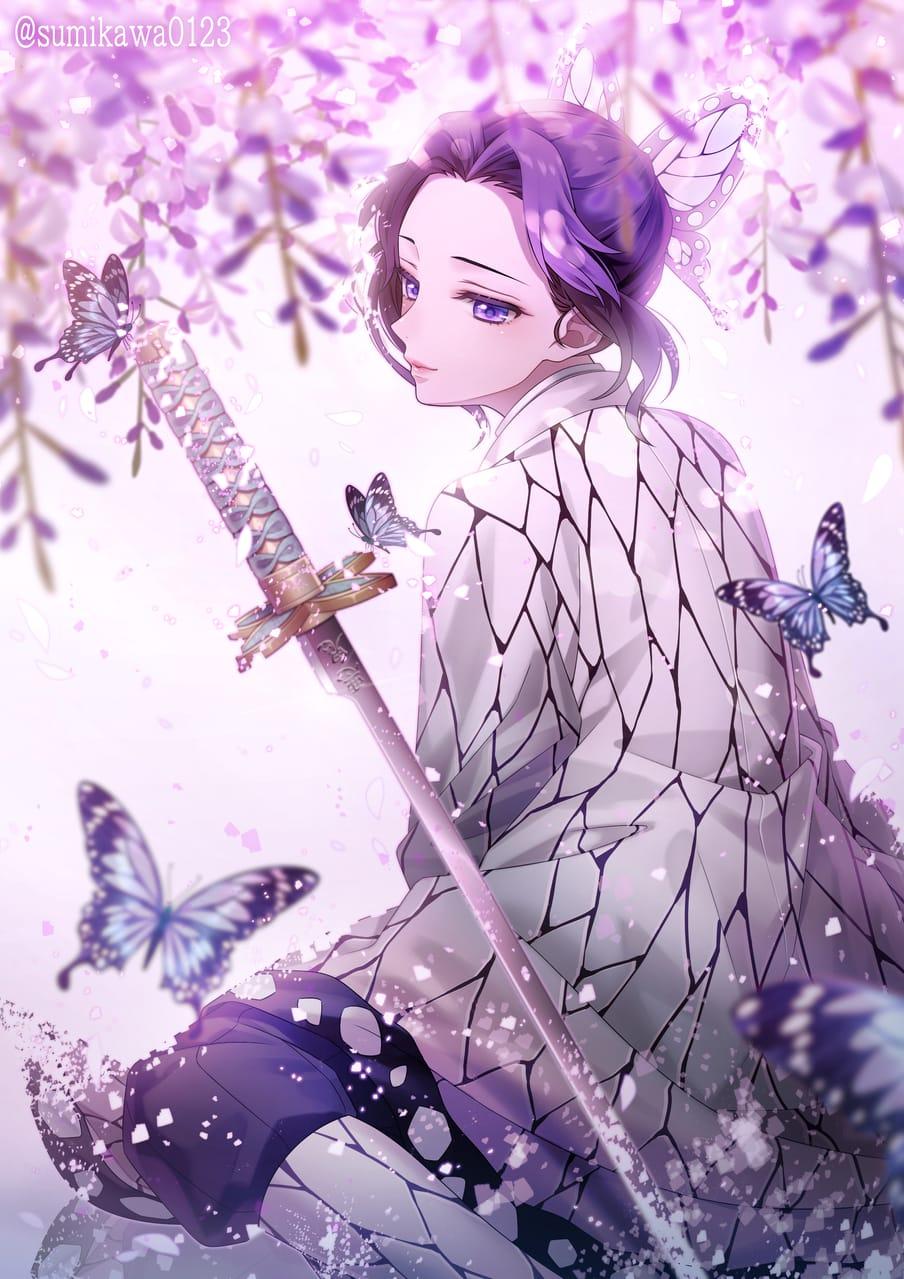 胡蝶しのぶ Illust of すみかわ KimetsunoYaiba KochouShinobu