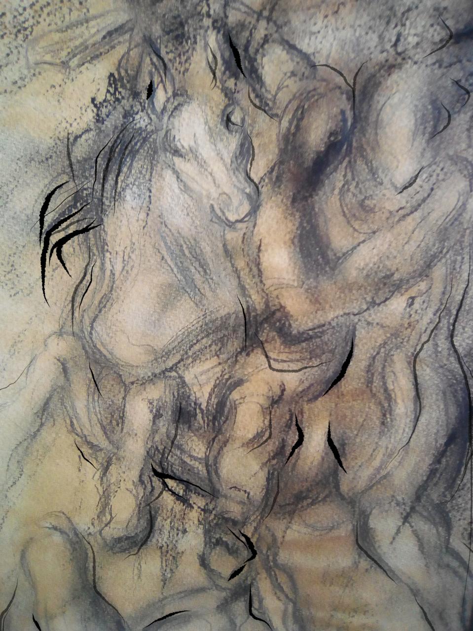 Tiziano Vecellio / Titolo: Dominus Venustas Illust of Grandicelli Susanna MasterpieceFanart pittura art fan
