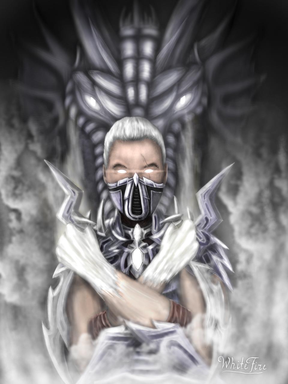 Assassin of white fire (oc)