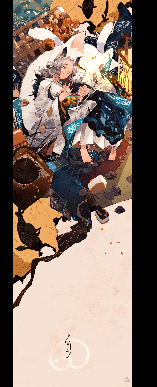 こたつ猫 Illust of 鴉羽 凛燈 original cat 炬燵 girl