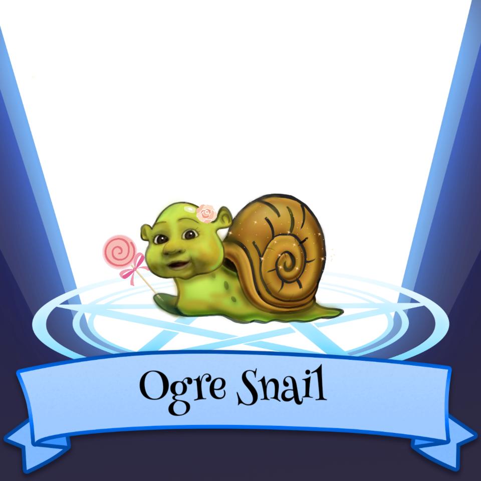 The Ogre Snail Mutant Illust of Almareus SoBadItsGood cute mythical