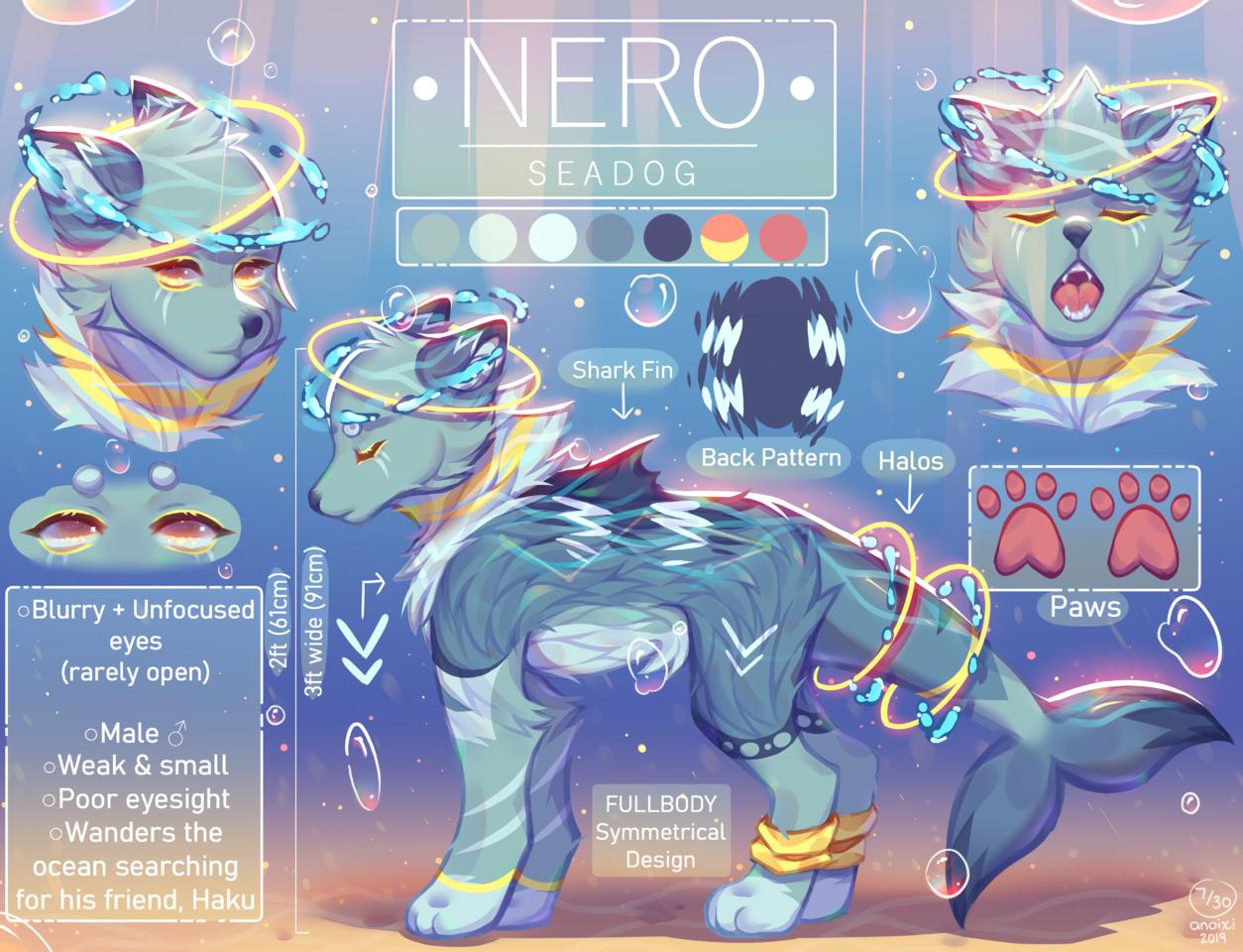 Nero Illust of Anoixi April.2020Contest:Color ARTstreet_Ranking