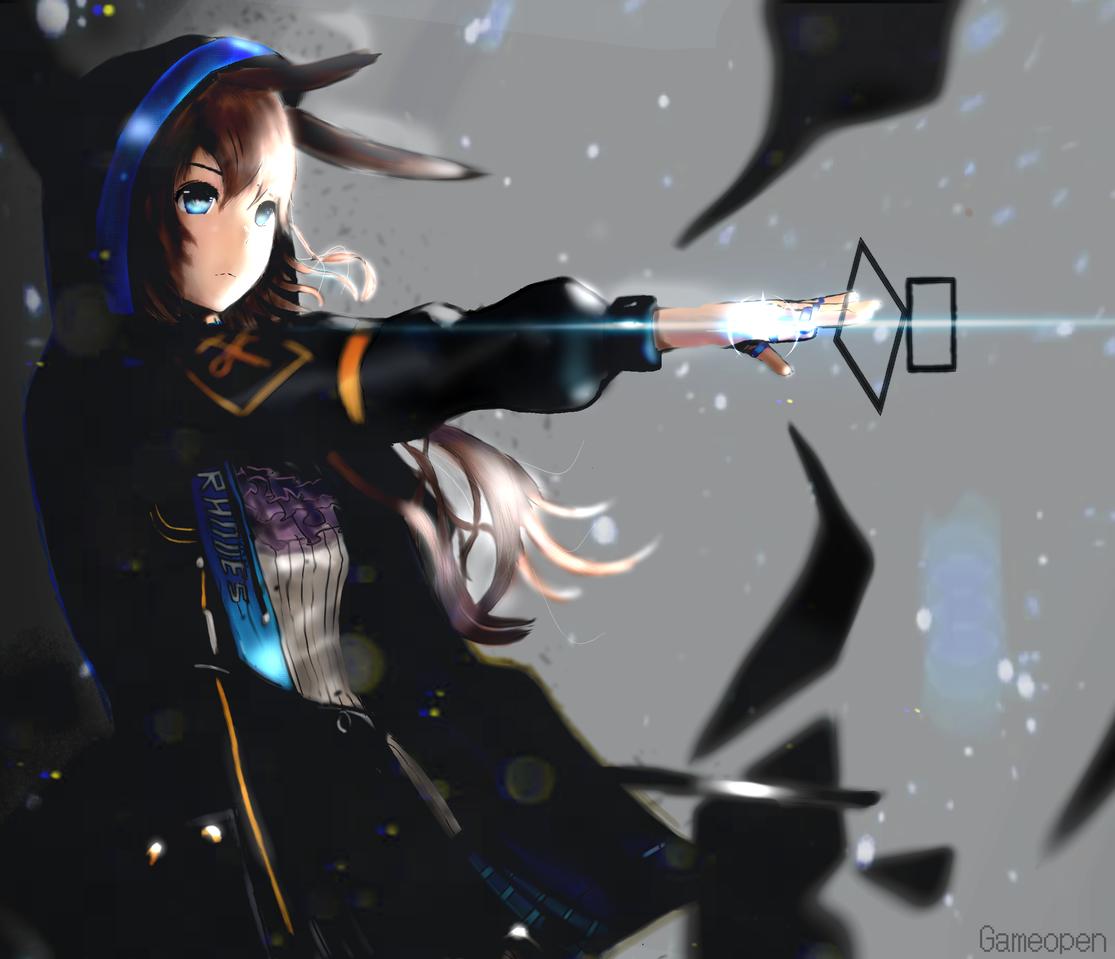 ═『❀𝔸𝕞𝕚𝕪𝕒❀』═【ᴀʀᴋɴɪɢʜᴛs】 Illust of Loonr | Game_Open action medibangpaint game magic Arknights anime Amiya
