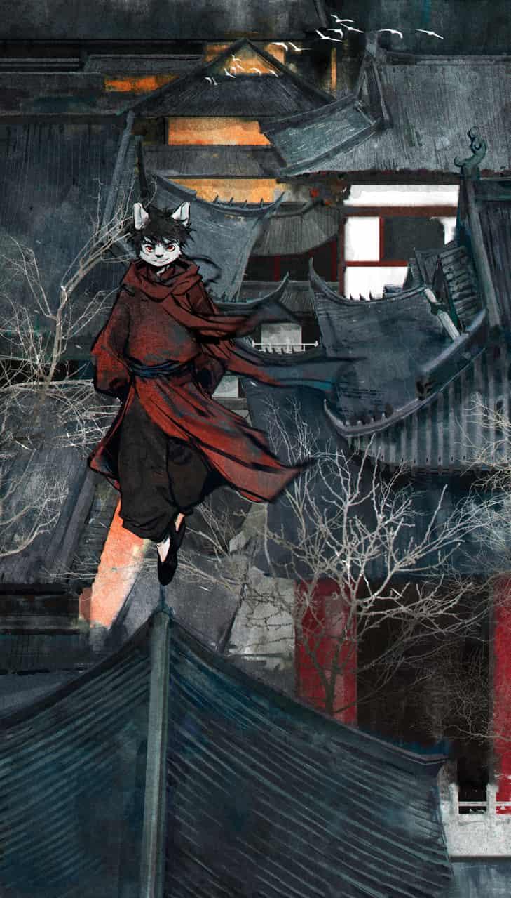 定坤 Illust of 薄长欢 September2020_Contest:Furry