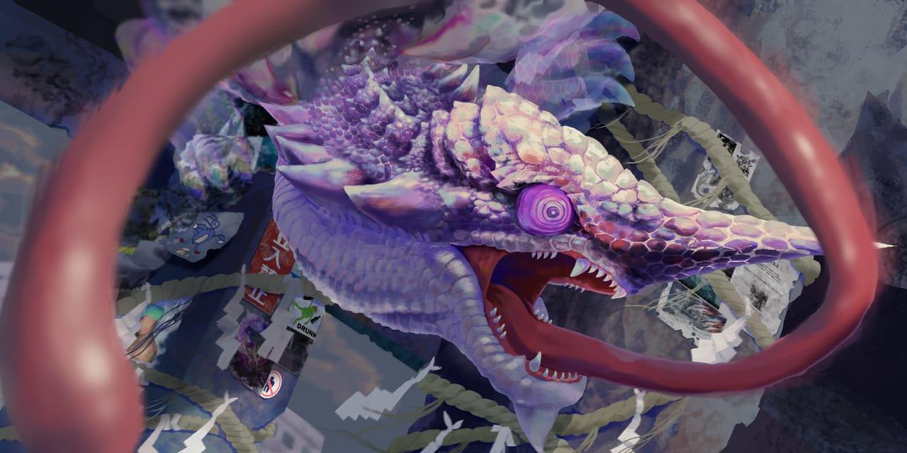 NOW YOU SEE ME Illust of eating dragon fanfic monster fanart MonsterHunter