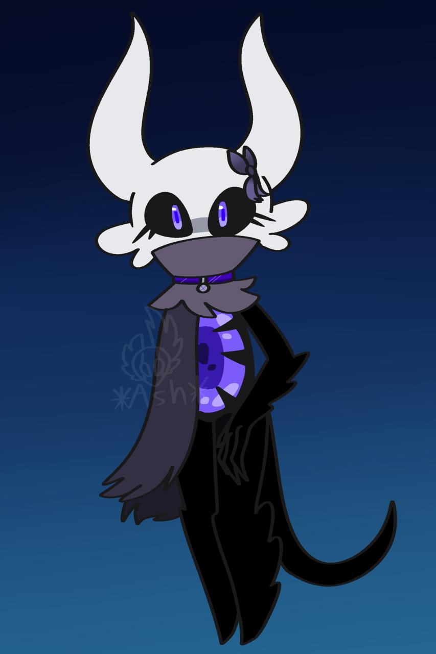 Rin Illust of ❄ᴀꜱʜ❄ medibangpaint adopt Hollow Knight oc Hollow_Knight vessel