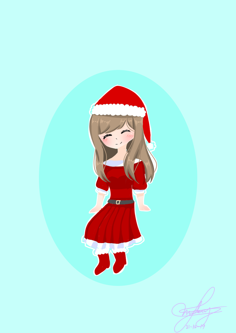 🎄 MERRY CHRISTMAS 🎄 Illust of hello_der_uwu medibangpaint