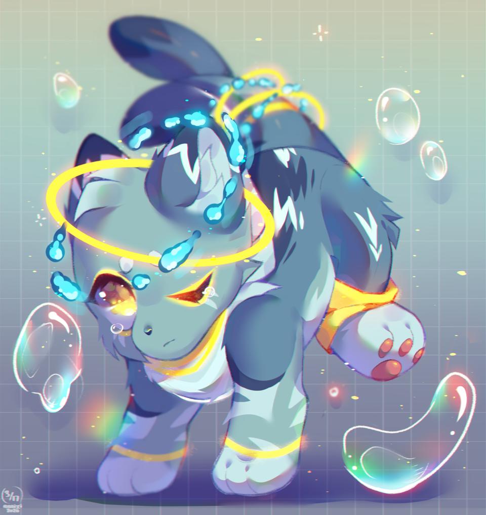 Bubbles! Illust of Anoixi ARTstreet_Ranking kawaii doodle Banana cute