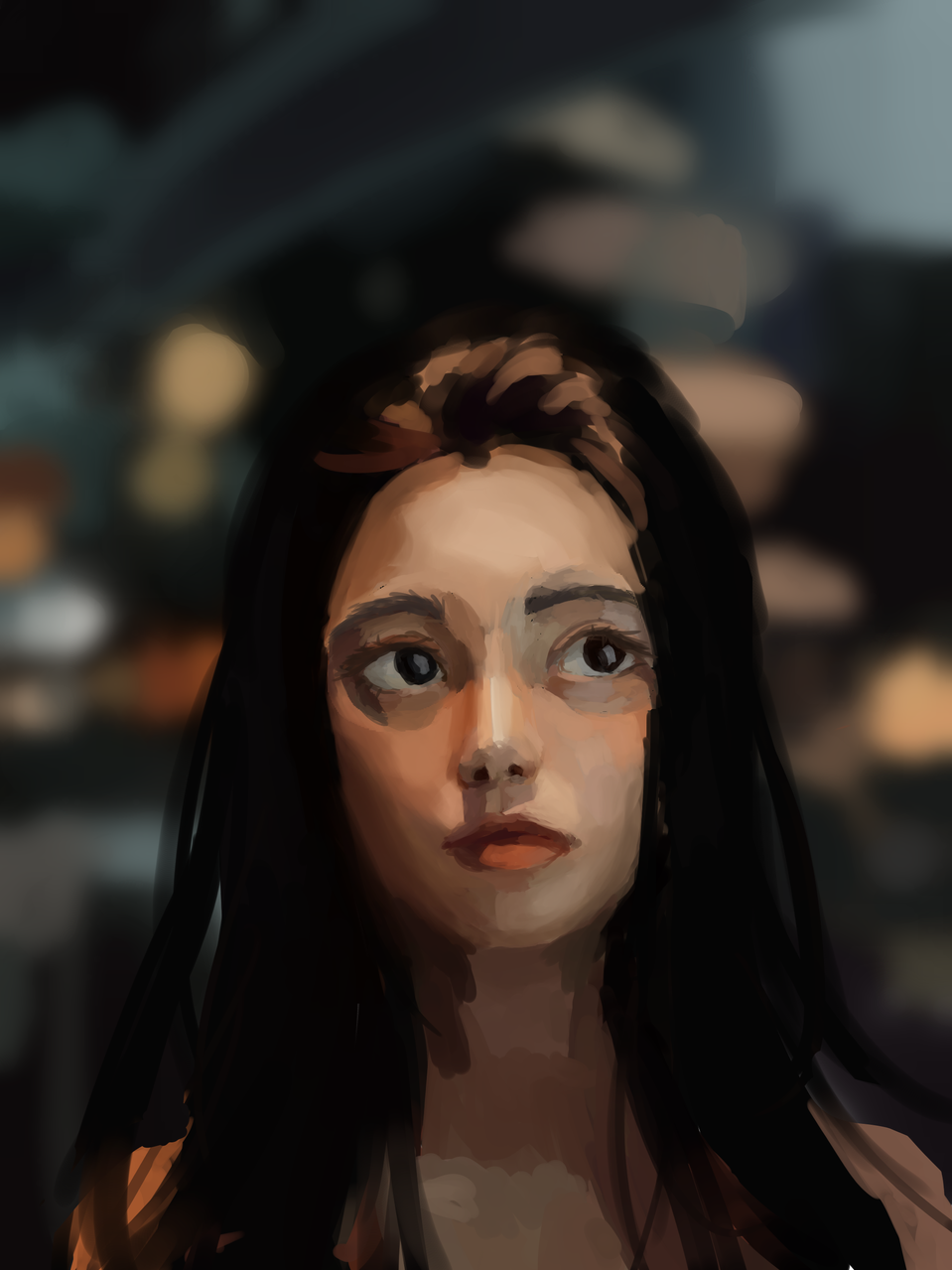 portrait study Illust of Monstersingy1 portrait painting medibangpaint
