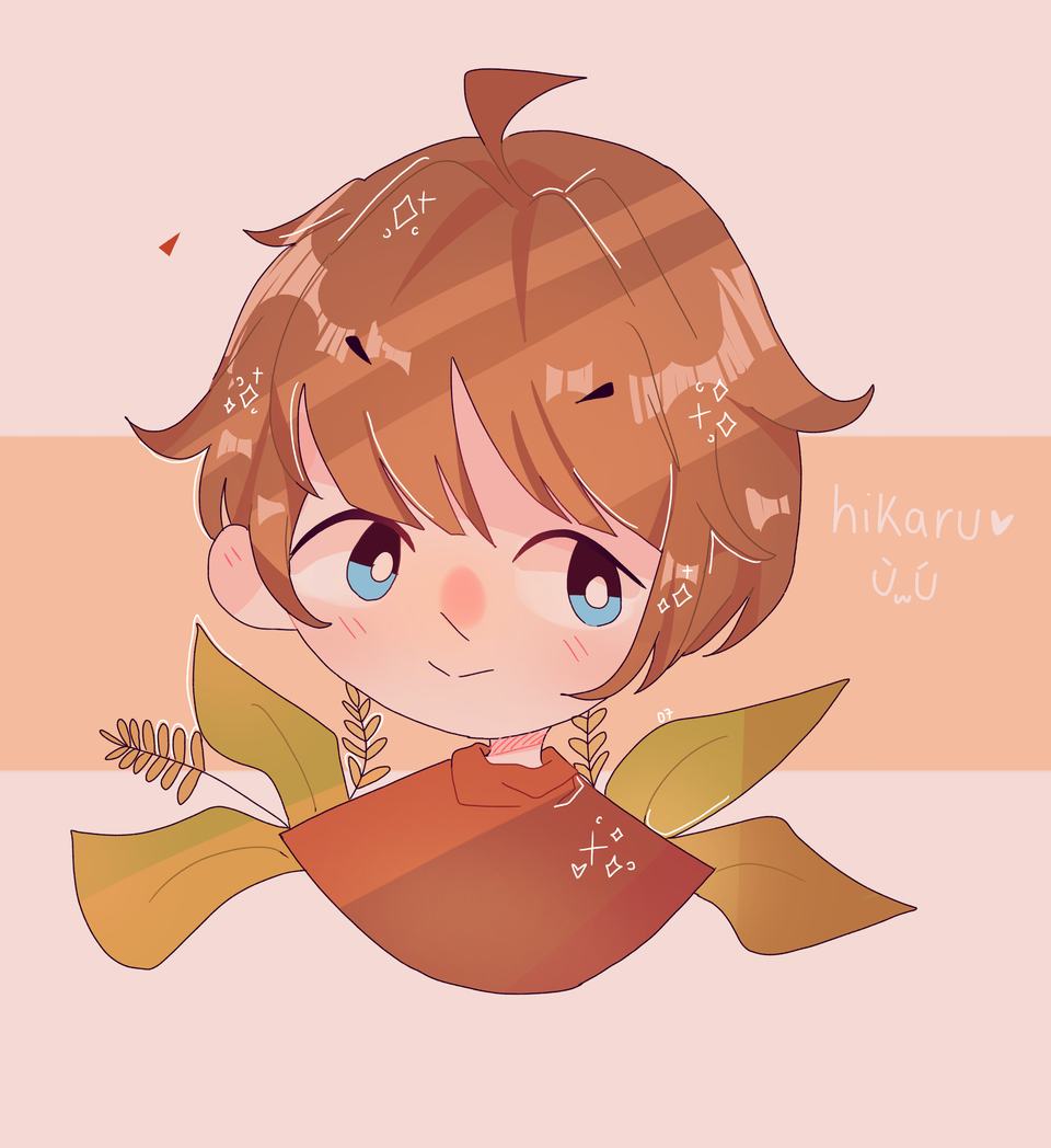 (late) Art trade with ZinkyArts! ✨🌱 Illust of pErSon medibangpaint