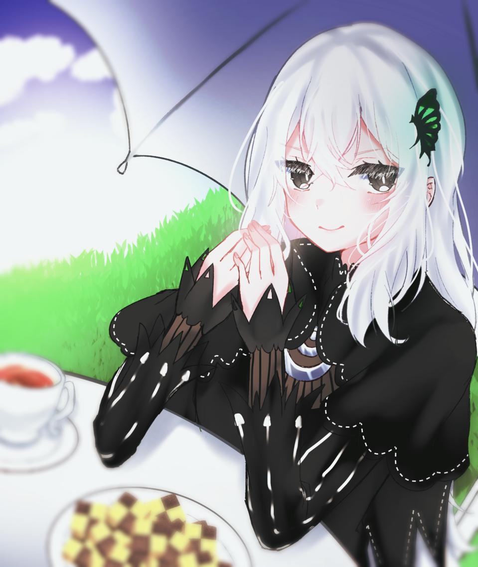 お題箱エキドナ Illust of 玉露(たまつゆ) medibangpaint 女の子イラスト エキドナ Re:Zero