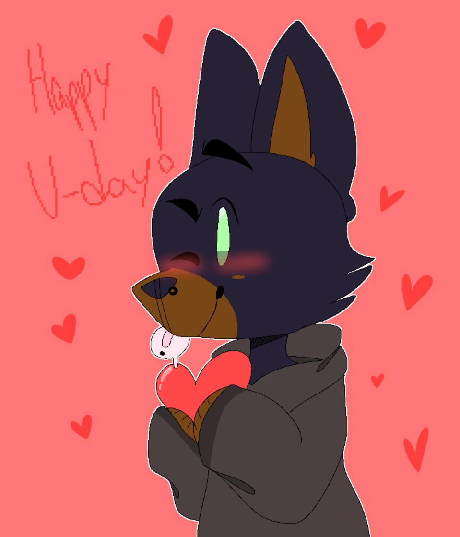 Happy V-Day!- :') Illust of Wolfy medibangpaint