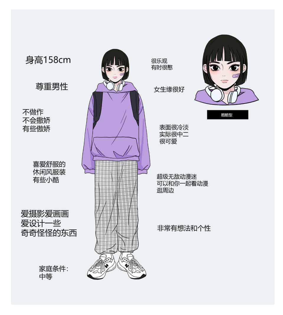 理想女友2 Illust of 蓝波 MyIdealWaifu_MyIdealHusbandoContest MyIdealWaifu girl illustration 理想女友