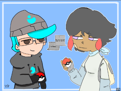 Collab with Minty Illust of CaptainGusto collab funny pokemon