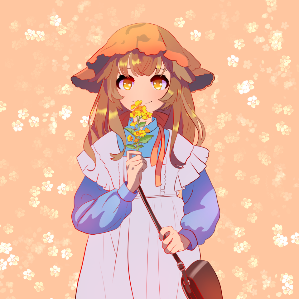 Shes a girl ey Illust of snow_yuki 1hDrawingChallenge