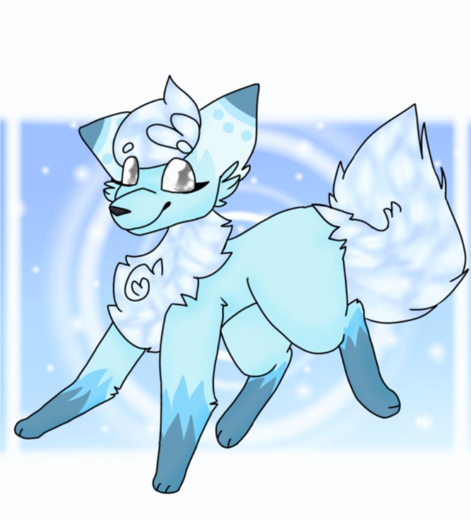 Ice Wolf Illust of 科莫多巨蜥
