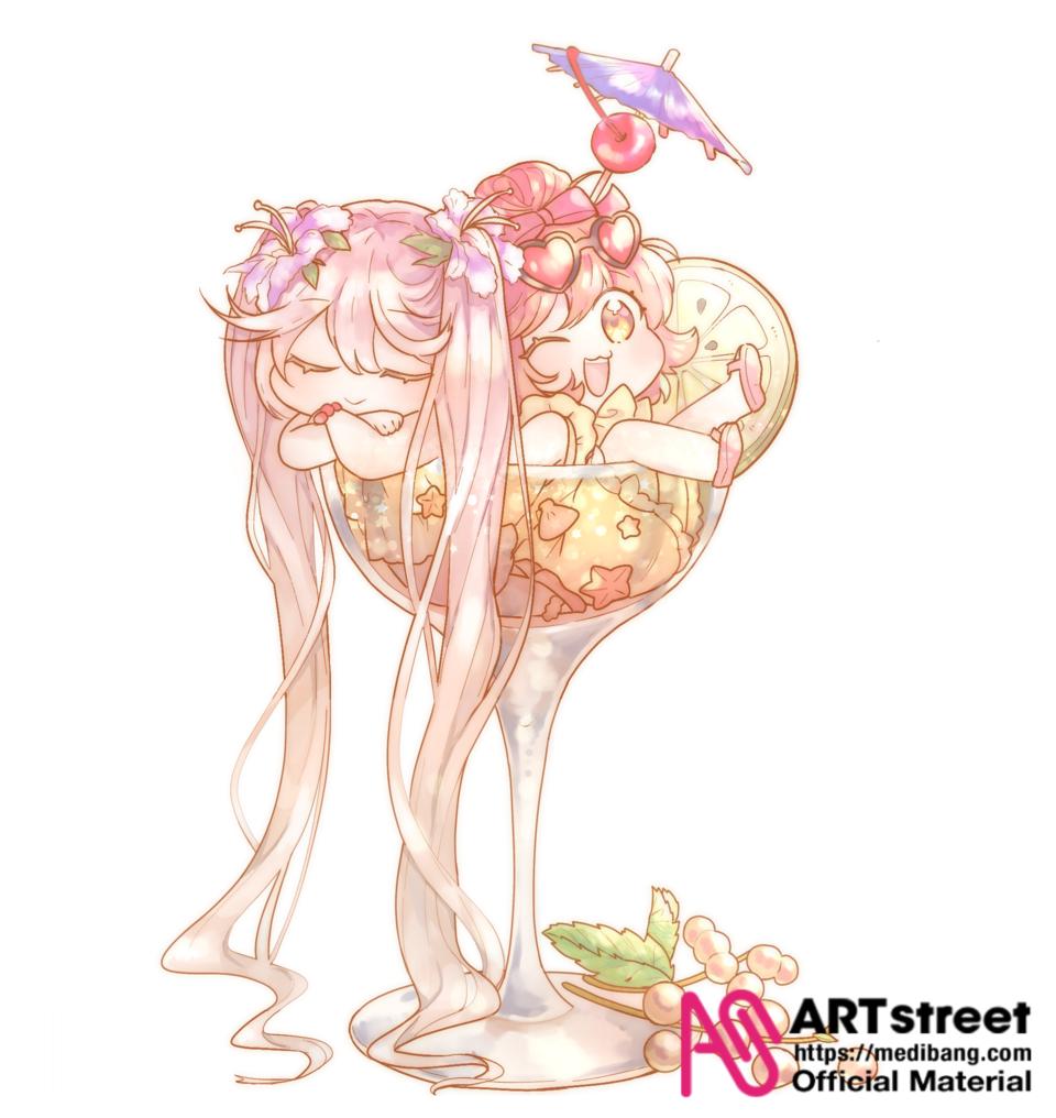 Original girls Illust of Shife tracedrawing