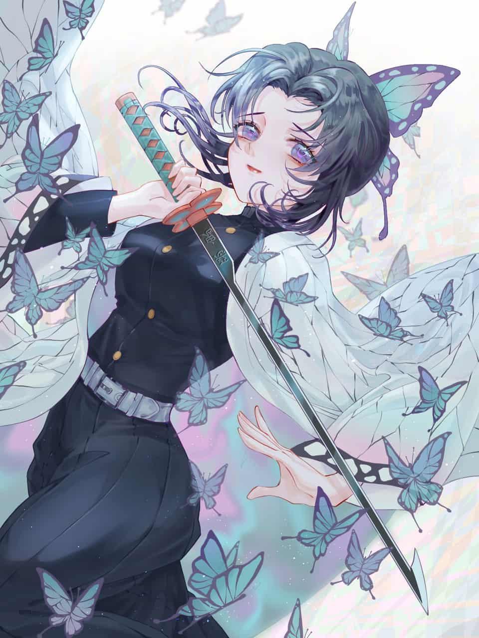 蝴蝶忍 Illust of haru DemonSlayerFanartContest KimetsunoYaiba KochouShinobu