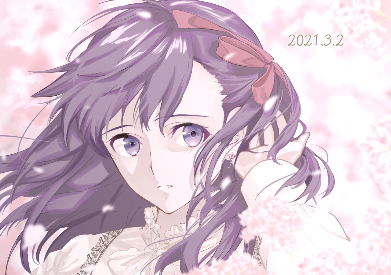 桜 Illust of 97 medibangpaint 間桐桜