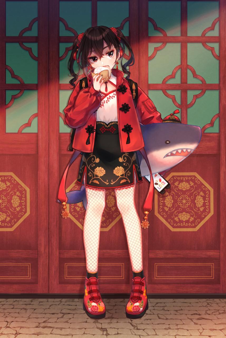 チャイナあきらちゃん(髪型差分有り) Illust of momozo 砂塚あきら チャイナ TheIdolmasterCinderellaGirls