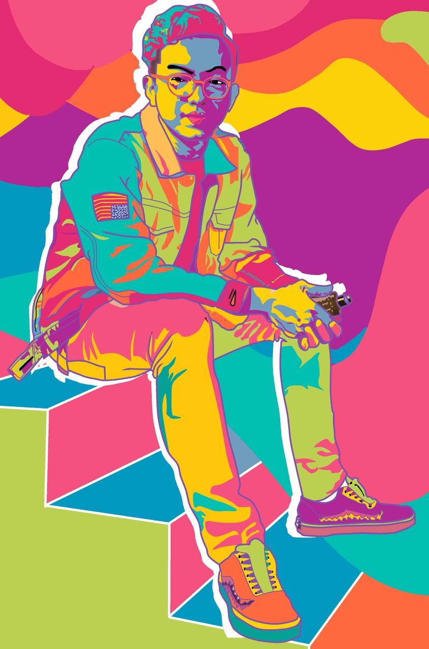 My Best Friend Illust of hakaikota April.2020Contest:Color medibangpaint contest