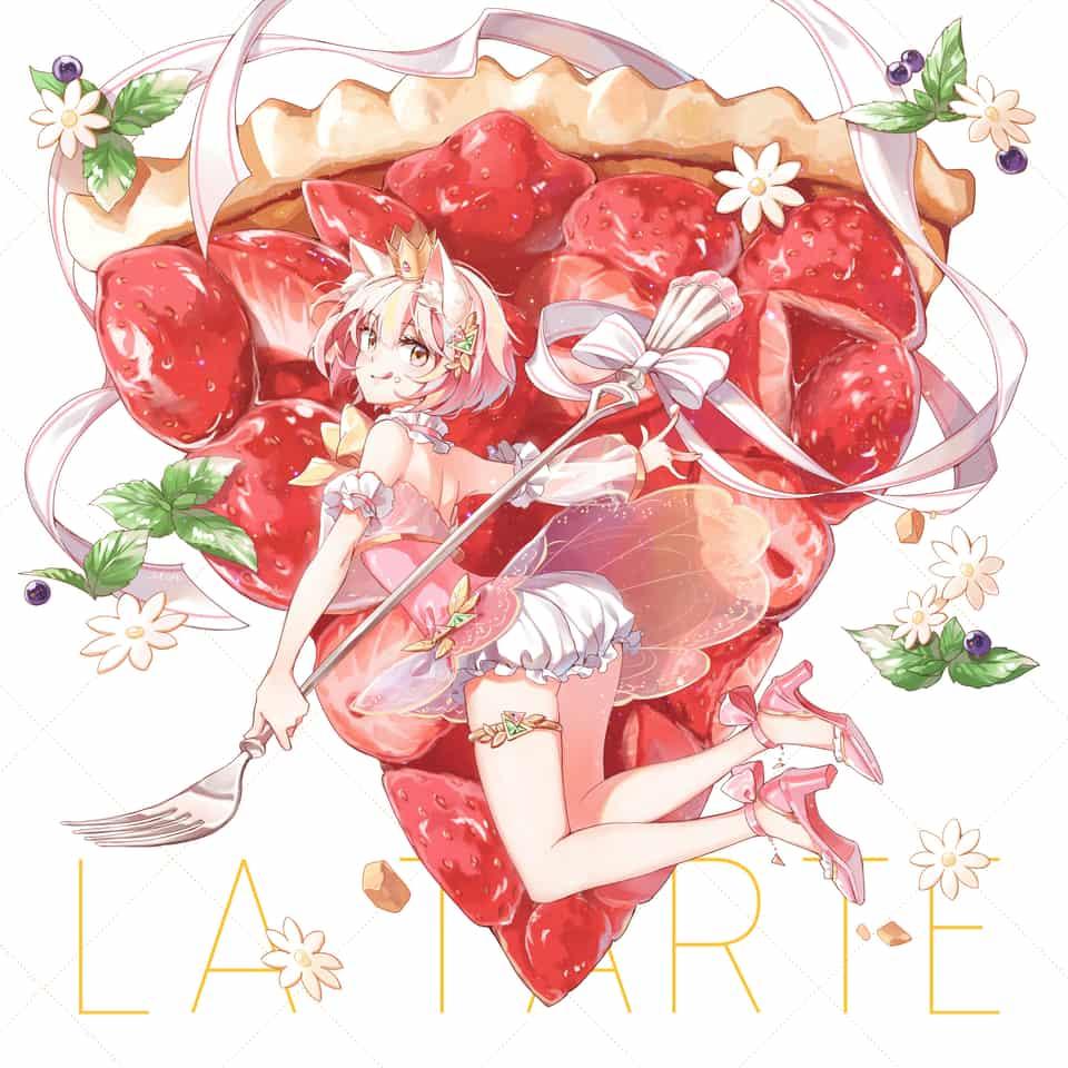 / 甜點系列1 / - 草莓塔 Illust of monmon511312 original お菓子 strawberry girl