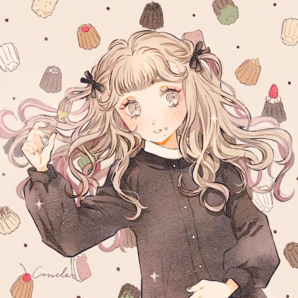 canele Illust of 緑乃 カヌレ girl original