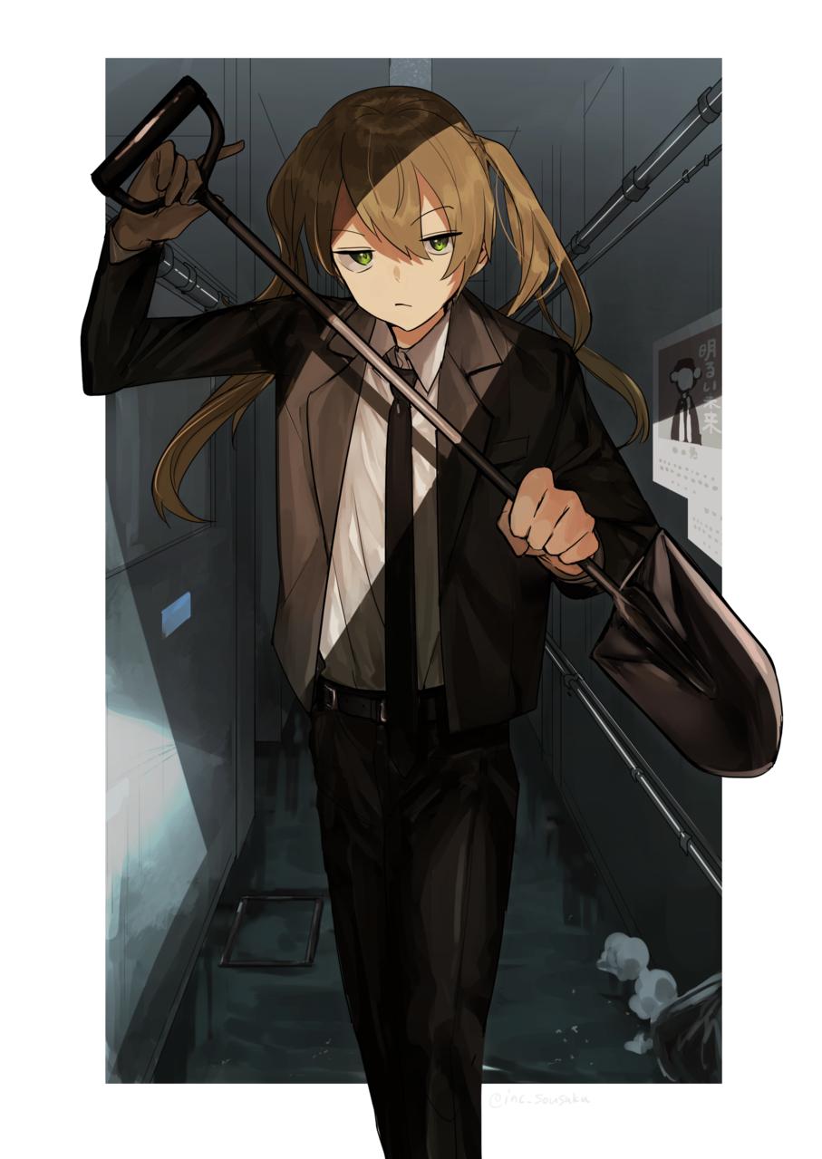 創作 Illust of mn oc original suit boy