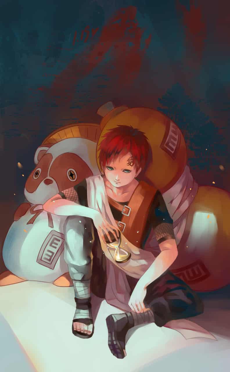 静止の時間 Illust of 布鲵BUNI 1stjumpillust NARUTO Gaara