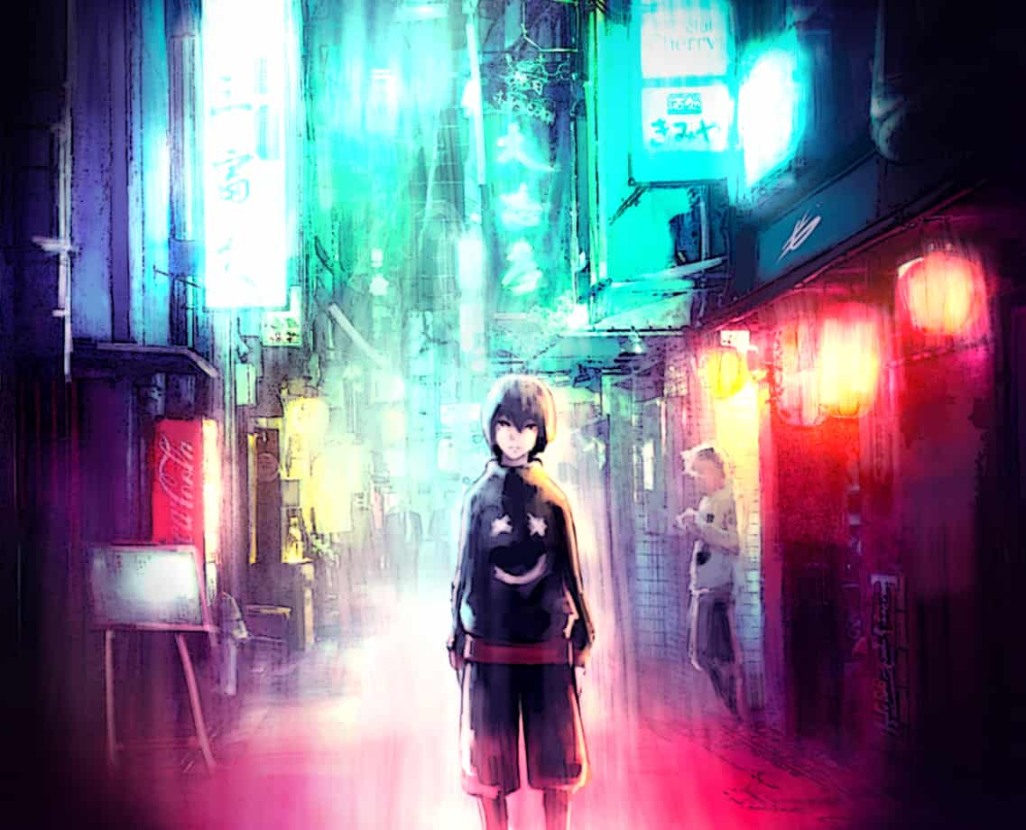 Ohgami Illust of Gamousino digital anime color manga