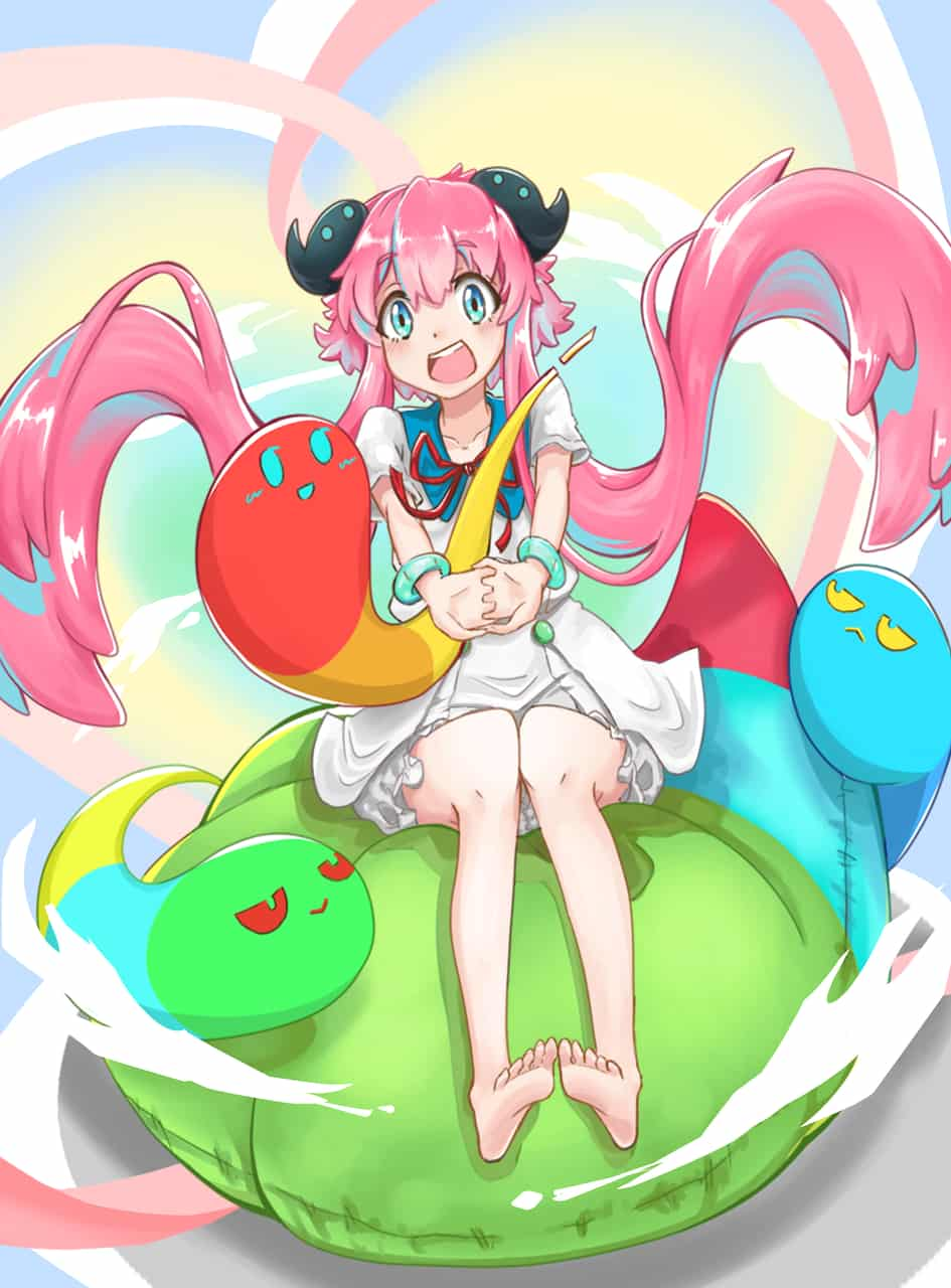 Medi-chan Illust of Carrot General_Election_Medi-chan MediBang_General_Election pink painting MyArt portrait cute girl 可愛い女の子 medibang