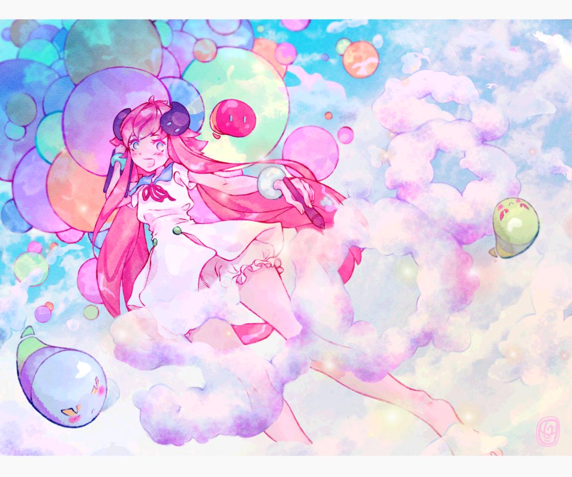 • Celebration • ✨ Illust of Onali medibangpaint5000 art girl animegirl digital cute illustration Medi-chan kawaii medibangpaint