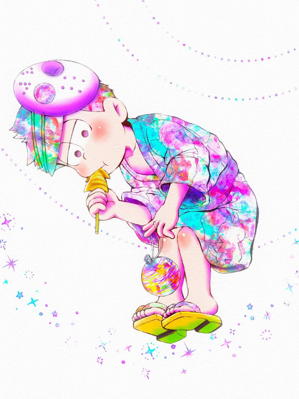 一松 Illust of どんくる medibangpaint Ichimatsu たび松さん Mr.Osomatsu