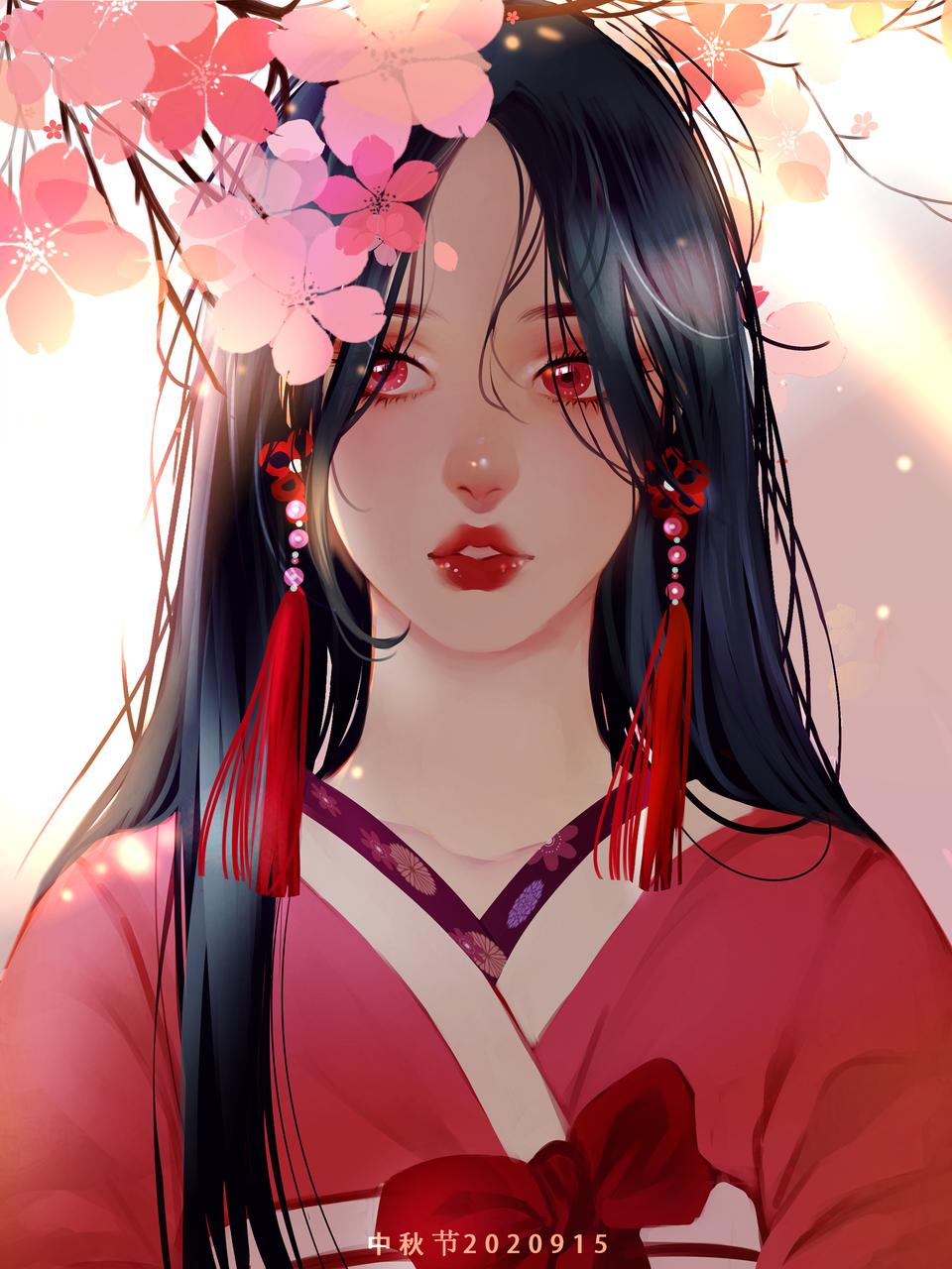 花开花落 Illust of 画江湖 medibangpaint kimono