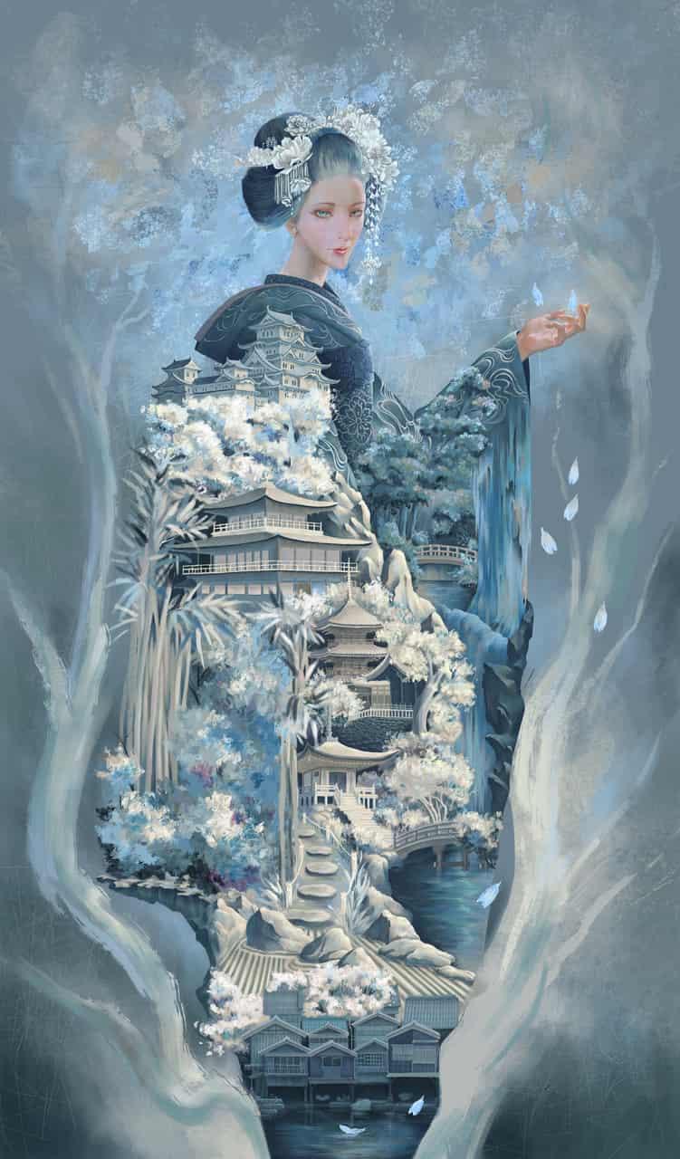 Spirit of the town Illust of InkKink kyoto-illust2019