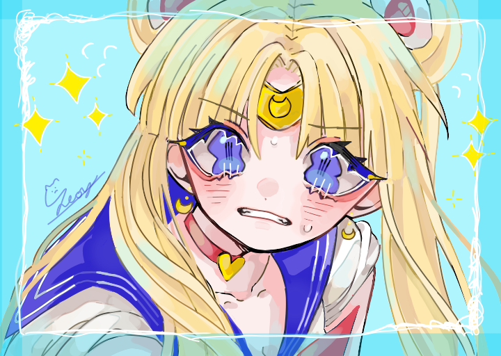 😃😃 Illust of °Seoy° medibangpaint girl sailormoonredraw rkgk kawaii cute UsagiTsukino PrettyGuardianSailorMoon