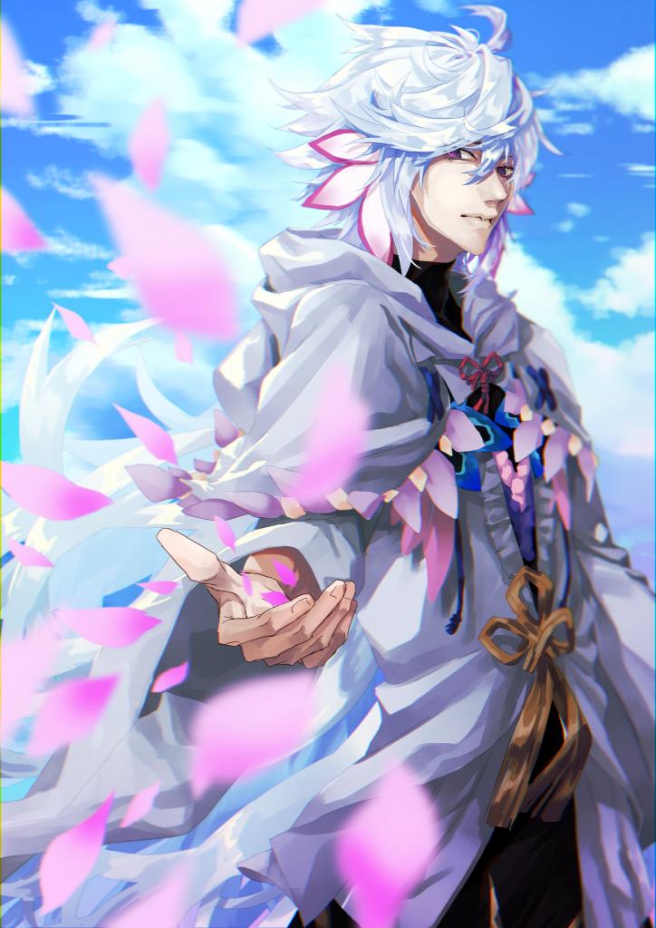 かいたら出る教 Illust of ひつぎ Fate/GrandOrder マーリン(Fate)