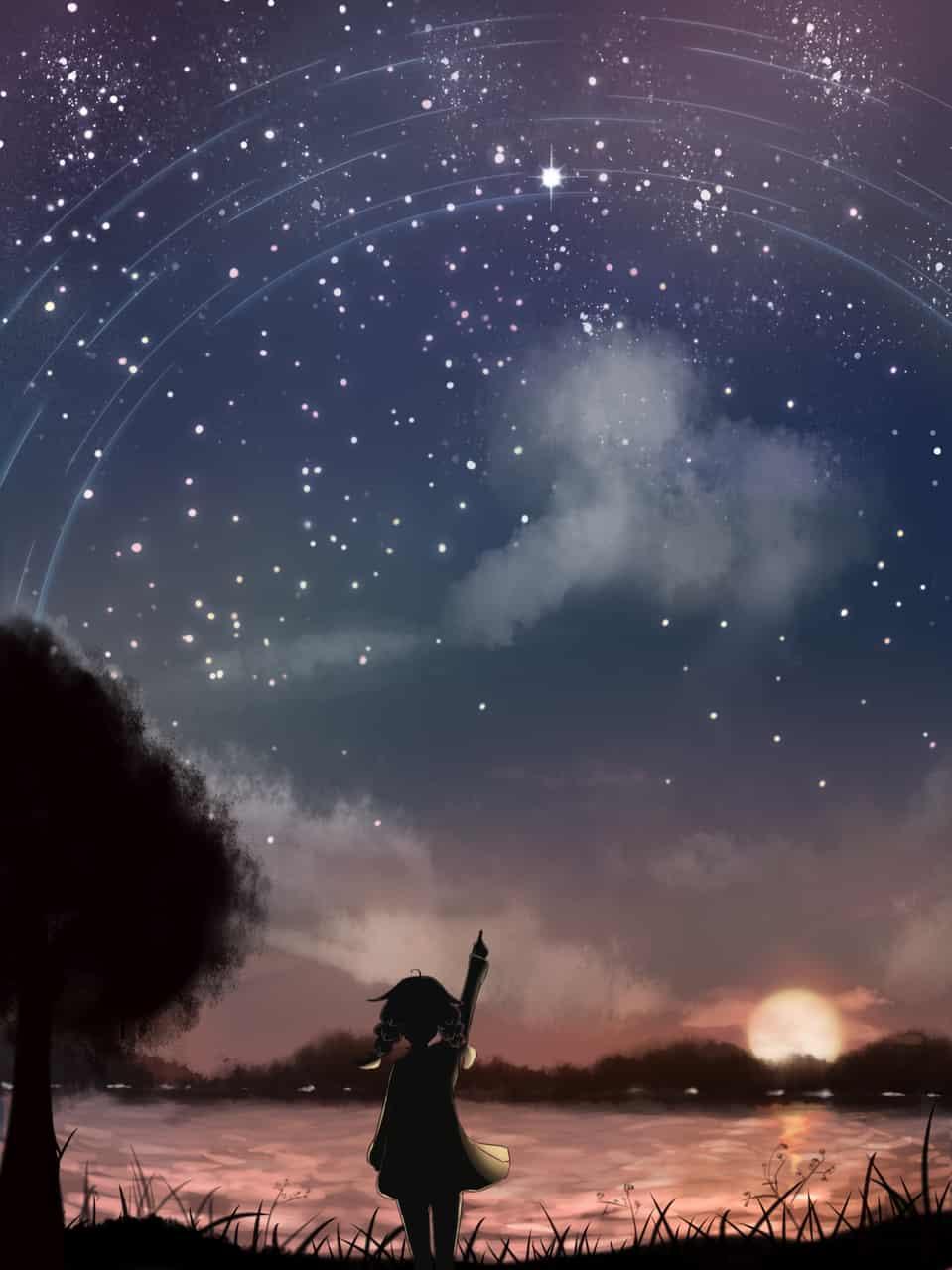 落書き Illust of Dianain 速涂 doodle scenery