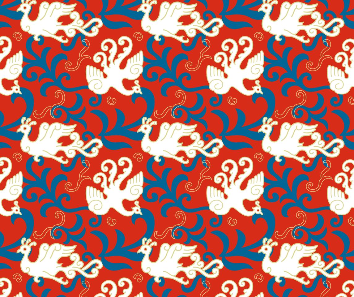 Phoenix Illust of 花頭貓 MaskDesignContest youkai drawing painting 火の鳥 illustrations illustration mask phoenix