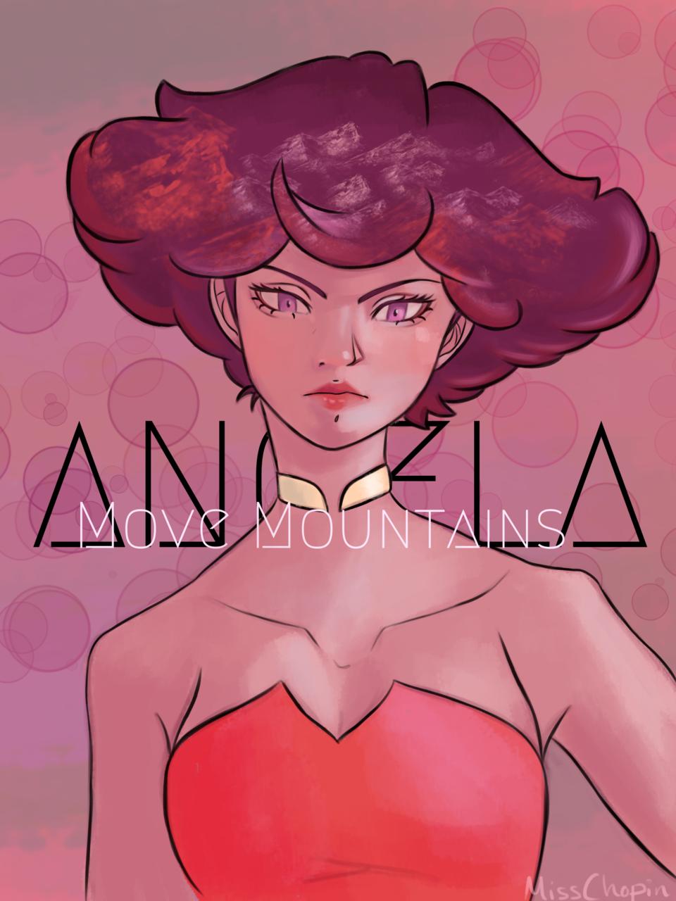 Angela Promotion Poster Fanart