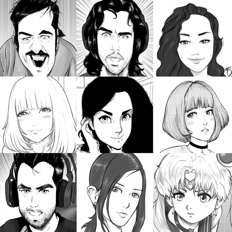 Faceyourart  Illust of Derwelt anime iPad_raffle sketch Artwork artist medibangpaint art faceyourart Medibang medibang