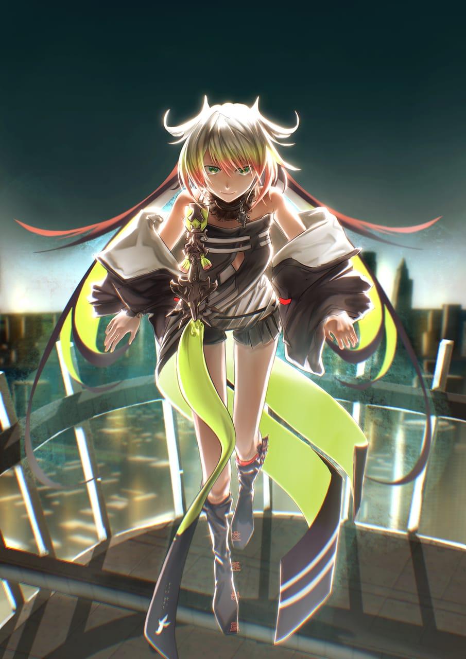 メリッサ・キンレンカ Illust of horoharo illustration girl horoharo メリッサ・キンレンカ virtual_YouTuber fanart 2021 にじさんじ