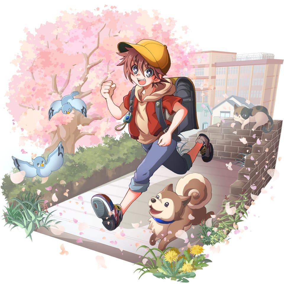 春 Illust of 西野遥香 original sakura boy 小学生 春 shonen ランドセル