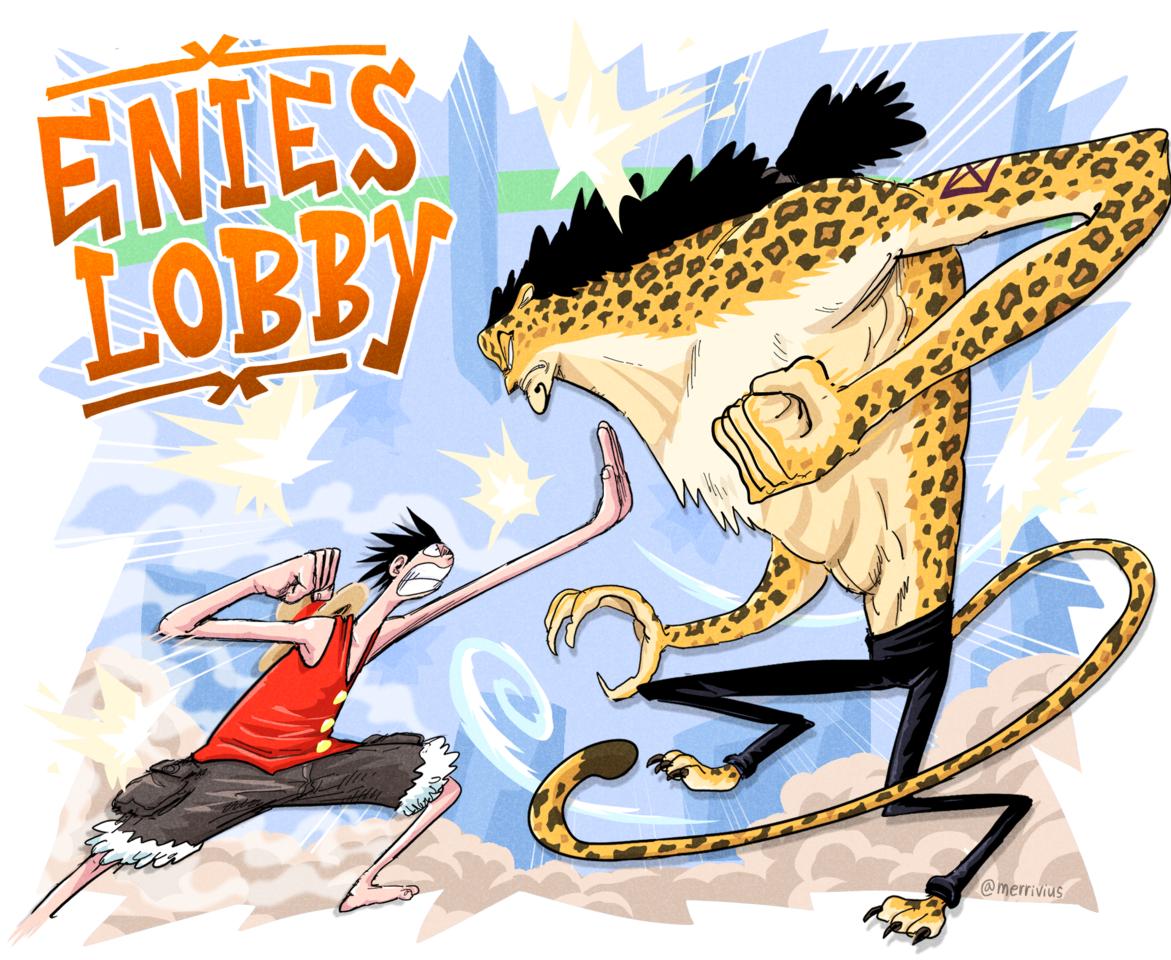 Enies Lobby Illust of Merrivius ONEPIECE_FanartContest-Illustration ONEPIECE_FanartContest ONEPIECE