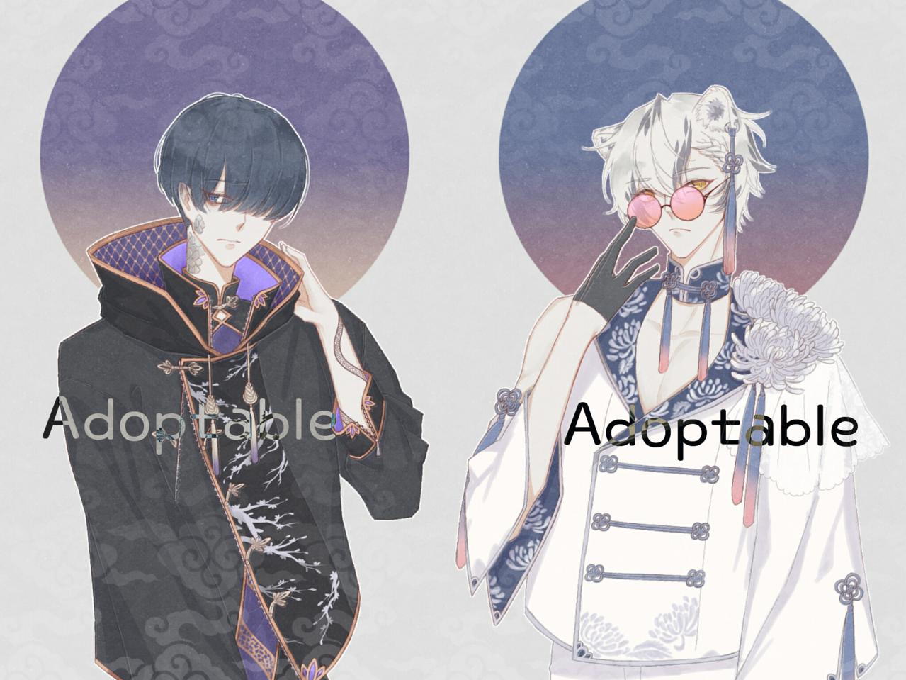 Adoptable Illust of 十四 | TOYO medibangpaint Adoptable