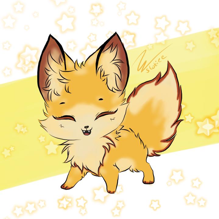 foxy~chan Illust of Slotiee September2020_Contest:Furry furry fox