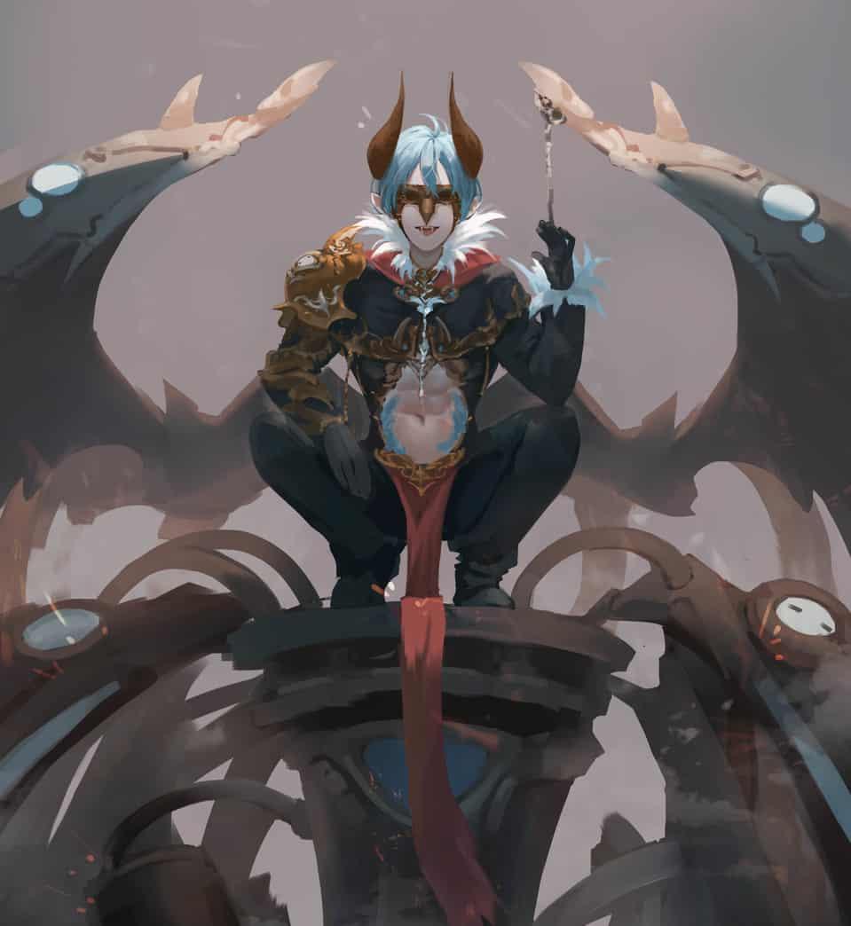 Boss Illust of Peace male 魔王 boy 男 男性キャラ