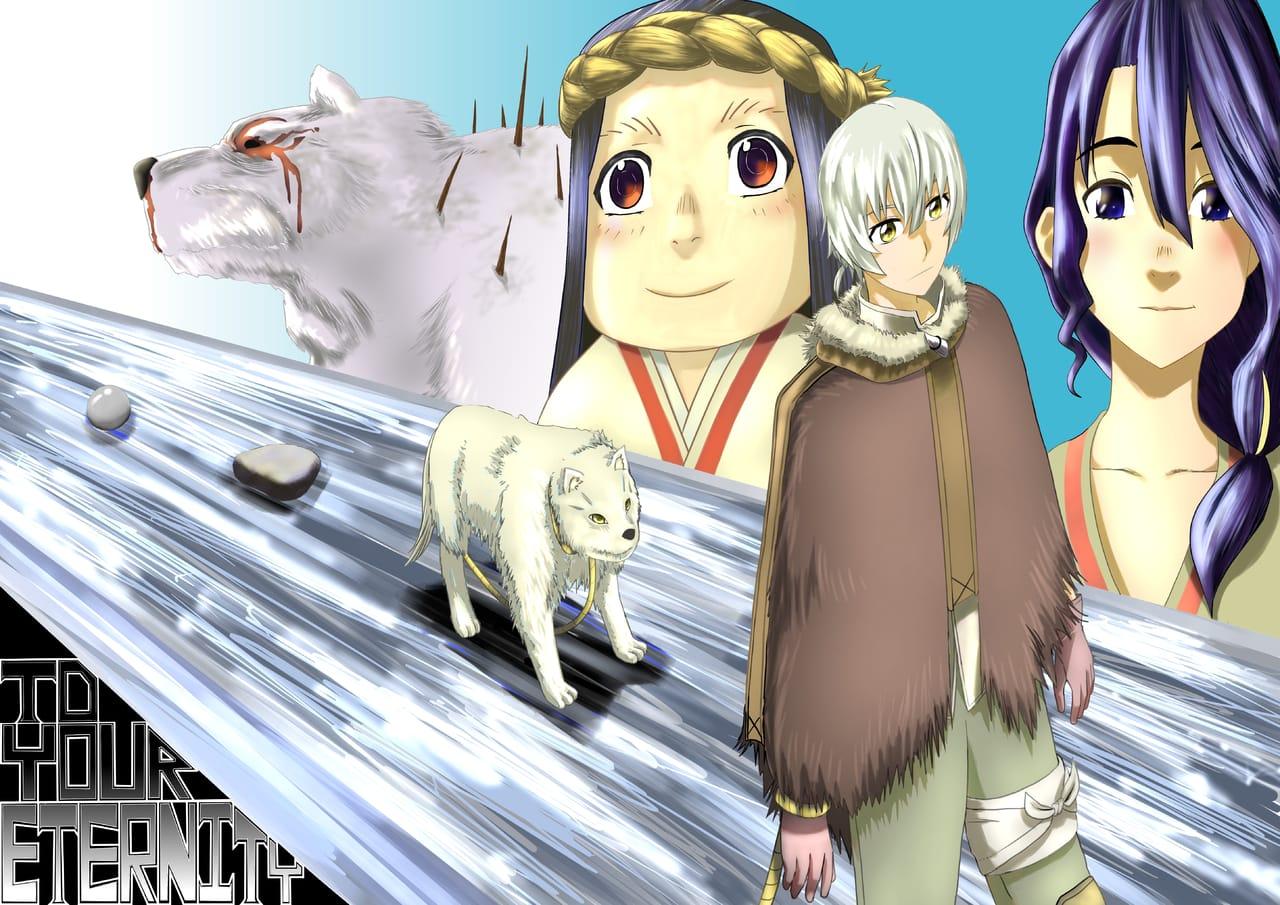 Fanart - Fumetsu no Anata e Illust of 平和 大地 (Hirawa Daichi)