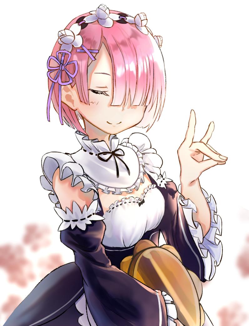 Ram Illust of Comuno / Ningen❸ ARTstreet_Ranking Re:Zero girl ラム(リゼロ) medibangpaint