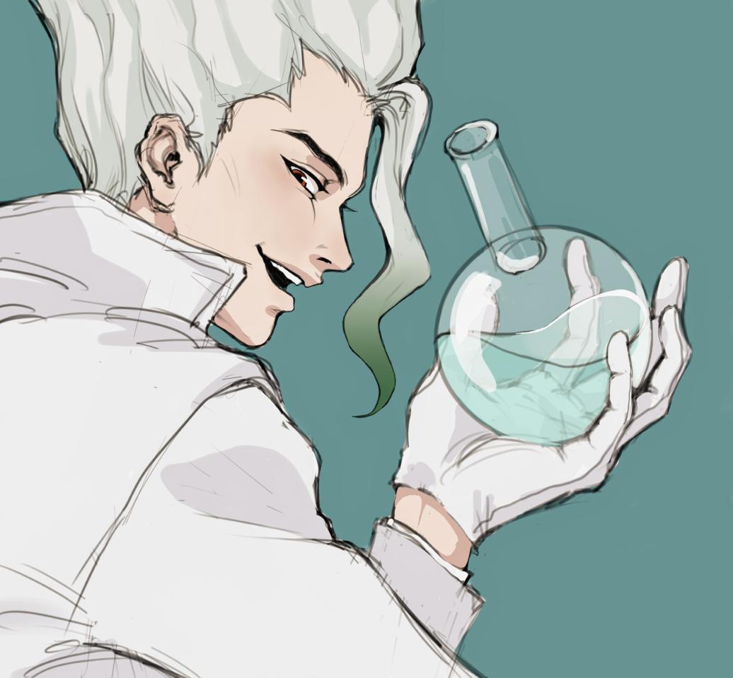 dr.Stone💚 Illust of Селёдка medibangpaint Dr.STONE 石神千空